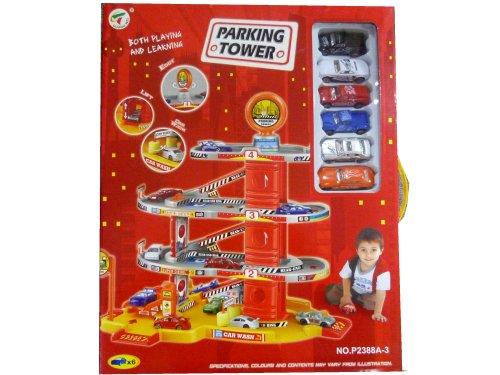 Giocattoli online garage 3 piani con 6 auto 39581 for 2 piani di garage per auto 3 piani