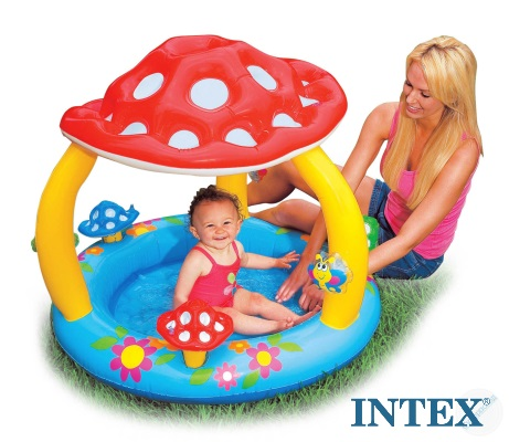 Giocattoli online piscina fungo baby 102x89 57407 for Intex piscine catalogo