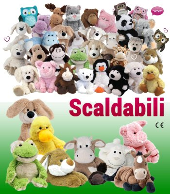 Peluche Warmies vendita online