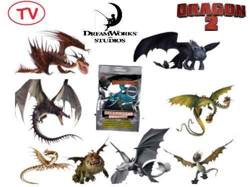 giocattoli personaggi dragon trainer