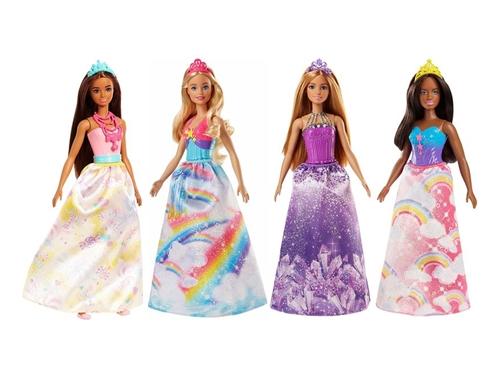 Barbie დრიმტოპიას პრინცესა ბრჭყვიალა კაბით